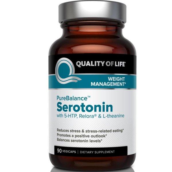 Quality of Life Labs Pure Balance, Serotonin, 90 Veggie Caps