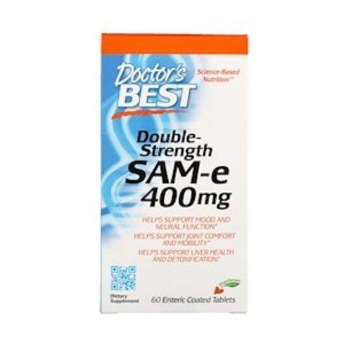 Doctor's Best Doctor's Best, SAM-e, Doppelte Dosierung, 400 mg, 60 Tabletten