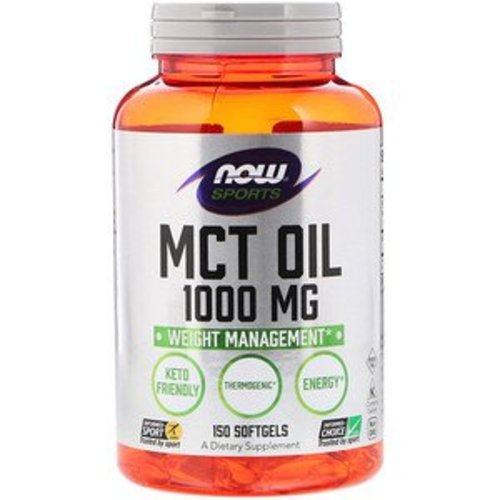 Now Foods MCT Oil, 1000 mg, 150 Softgelkapseln