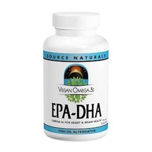 Source Naturals Source Naturals, Veganes Omega-3S, EPA-DHA, 300 mg, 60 vegane Softgelkapseln
