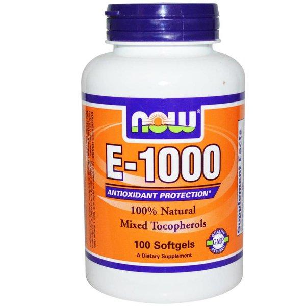 Now Foods Vitamin E-1000