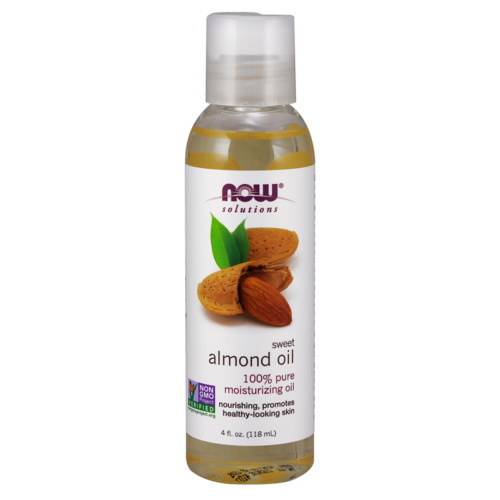 Now Solutions & Essential Oils Pures Mandelöl, 4 fl oz (118 ml)