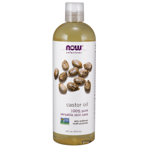 Now Solutions & Essential Oils Rizinusöl (Castor Oil) 16 fl oz (473 ml) Now Foods Solutions
