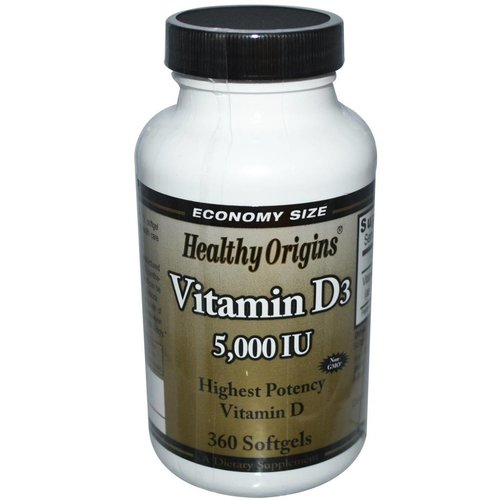 Healthy Origins Vitamin D-3 (5.000 IE)