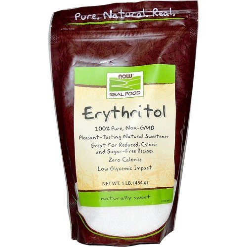 Now Real Food Erythrit - Natürliches Süßungsmittel, 454 g