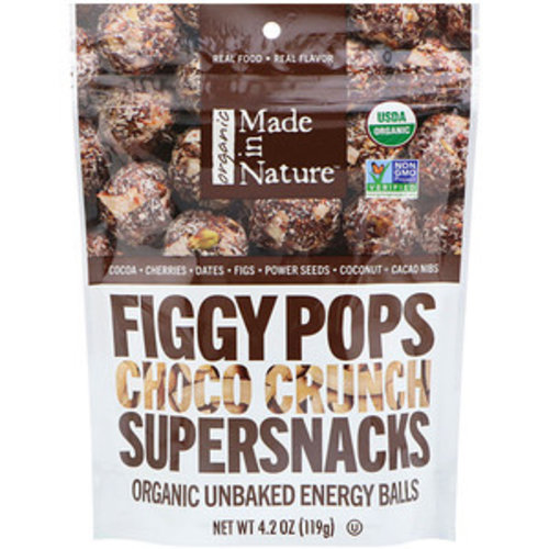 Made in Nature Feigen-Pops - Bio-Supersnacks aus Feigen, Schokocrunch