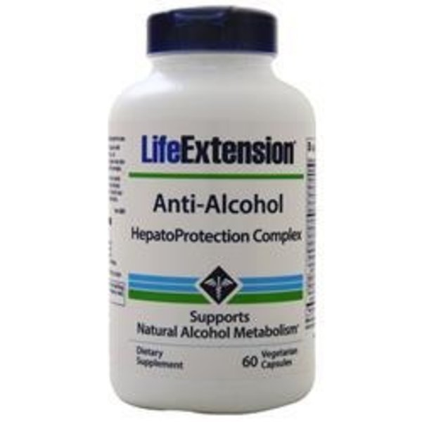 Life Extension Anti-Alkohol mit HepatoProtection Complex