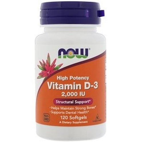 Now Vitamin D-3 (2.000 IE)