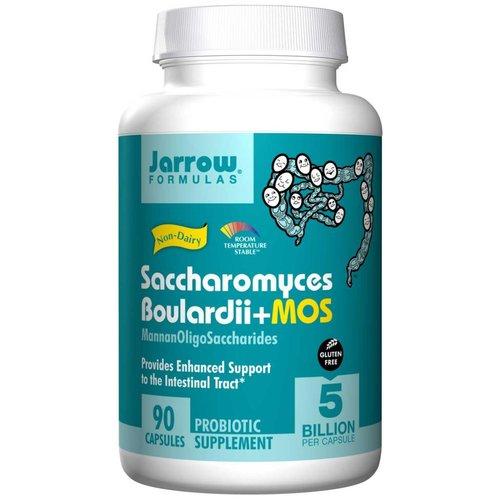 Jarrow Saccharomyces boulardii + MOS, 90 Veggiekapseln