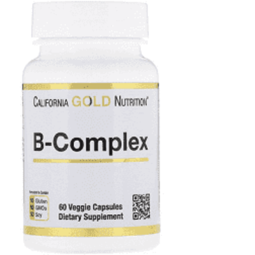 California Gold Nutrition B-Complex - essentieller B-Vitamin-Komplex