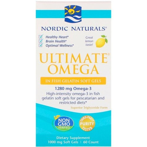 Nordic Naturals Ultimate Omega - Zitrone