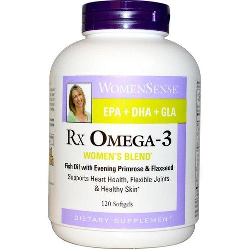 Natural Factors WomenSense, RxOmega-3, Damen-Mix