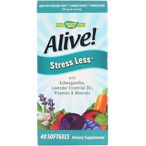 Nature's Way Alive! Weniger Stress