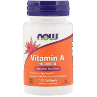 Now Vitamin A (10.000 IE)