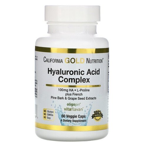 California Gold Nutrition Hyaluronsäure-Komplex
