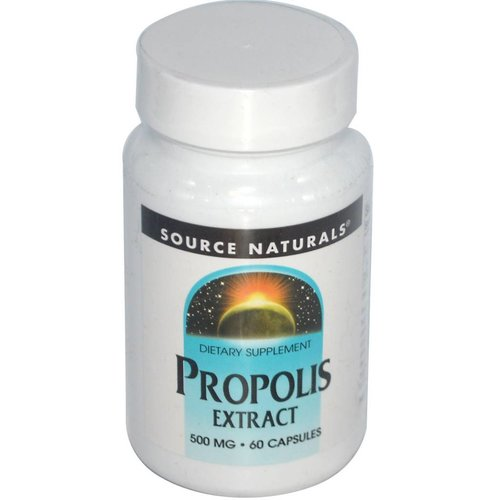 Source Naturals Propolis-Extrakt, 500 mg, 60 Kapseln