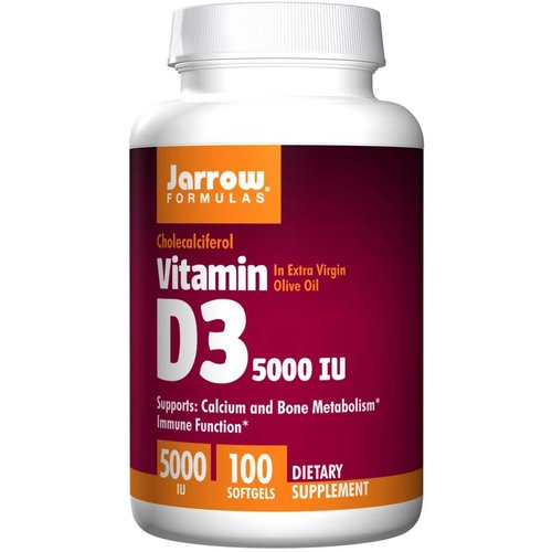 Jarrow Formulas Vitamin D3 (5.000 IE)