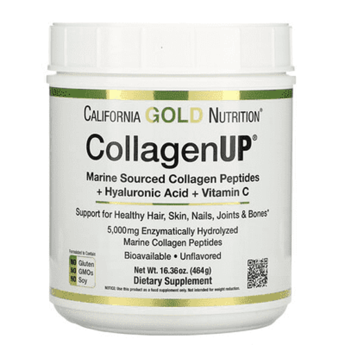 California Gold Nutrition Collagen UP 5000 mit Hyaluronsäure und Vitamin C