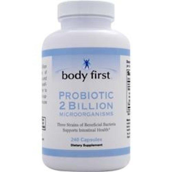 BODY FIRST (AllstarHealth) Probiotic 2 Milliarden Cells, 240 Kapslen für die gesunde Darmflora