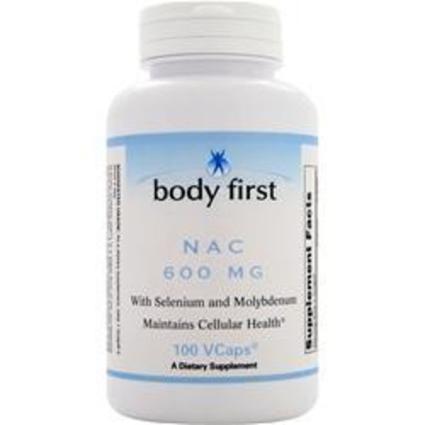BODY FIRST (AllStarHealth) NAC - N-Acetylcystein (600 mg)
