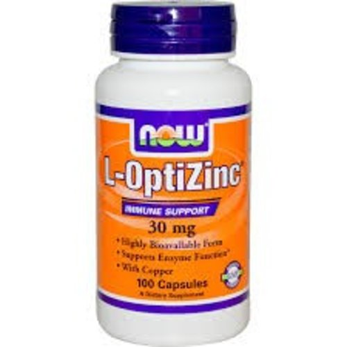 Now Foods L-OptiZinc (30 mg)