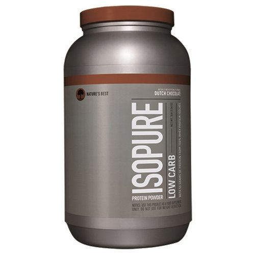 Nature's Best IsoPure - Low Carb Proteinpulver, Holländische Schokolade