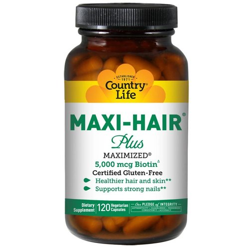 Country Life Maxi-Hair Plus 120 (5.000 mcg)