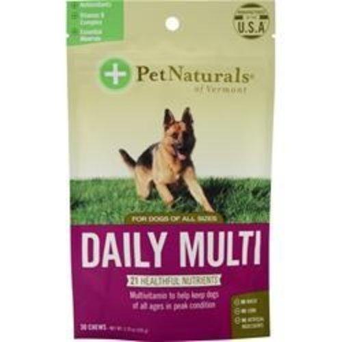 Pet Naturals of Vermont Tägliches Multi für Hunde: 30 Kaustücke