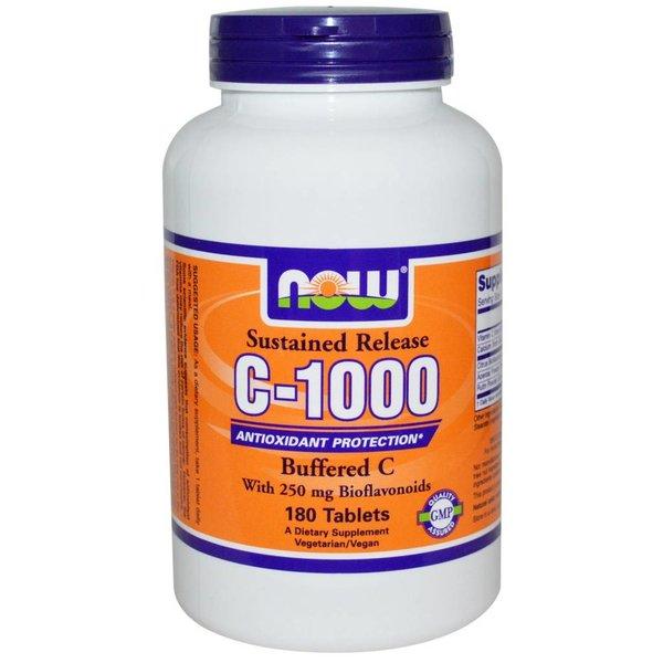 Now Vitamin C-1000 Komplex, Buffered C