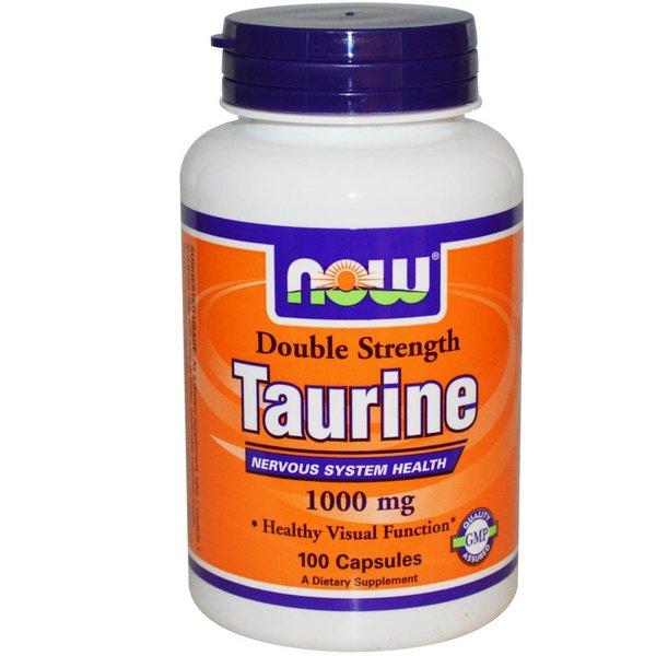 Now Foods Taurin - Doppelte Stärke (1.000 mg)