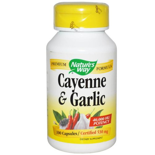 Nature's Way Cayenne & Knoblauch (530 mg, 40.000 HU)