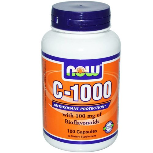 Now Now Foods, Vitamin C-1000, 100 Kapseln