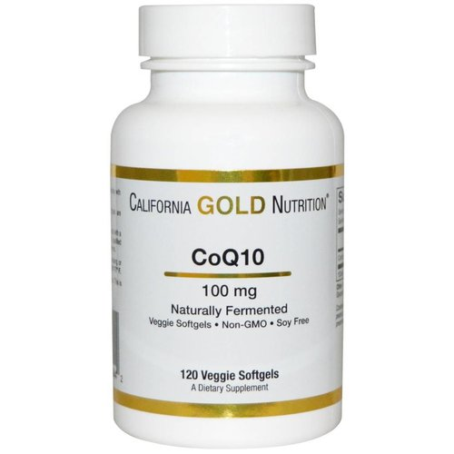 California Gold Nutrition Coenzym Q10, 100 mg, 30 Veggie Softgels