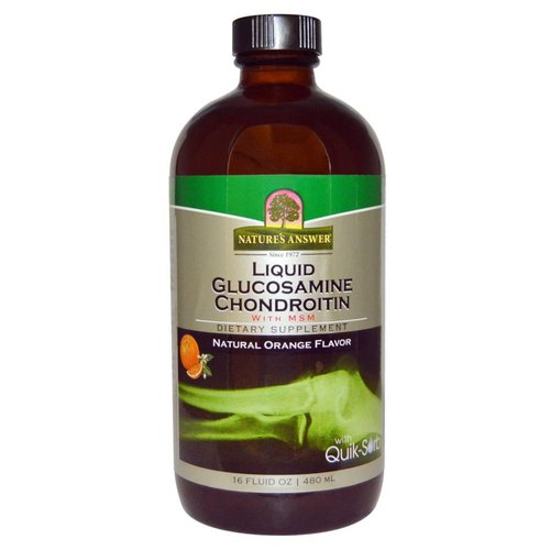 Nature's Answer Flüssiges Glucosamin Chondroitin + MSM