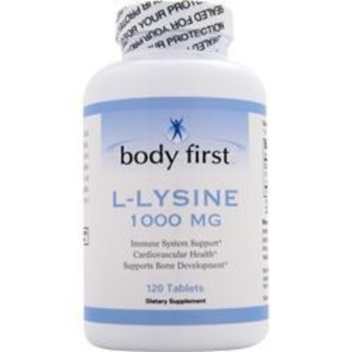 BODY FIRST (AllstarHealth) L-Lysin (1000mg) 120 Tabletten (L-Lysine)