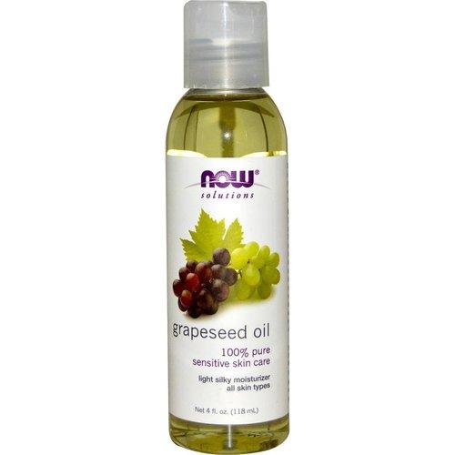 Now Solutions & Essential Oils Solutions, Traubenkernöl, 4 Flüssigunzen (118 ml)