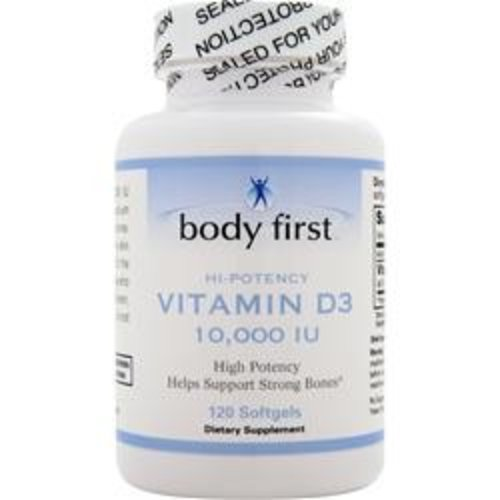 BODY FIRST (AllStarHealth) D3 - High Potency (10.000 IE)