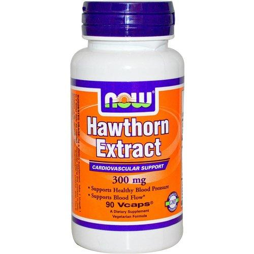 Now Foods Weißdorn-Extrakt, 300 mg, 90 Vcaps (Hawthron-9