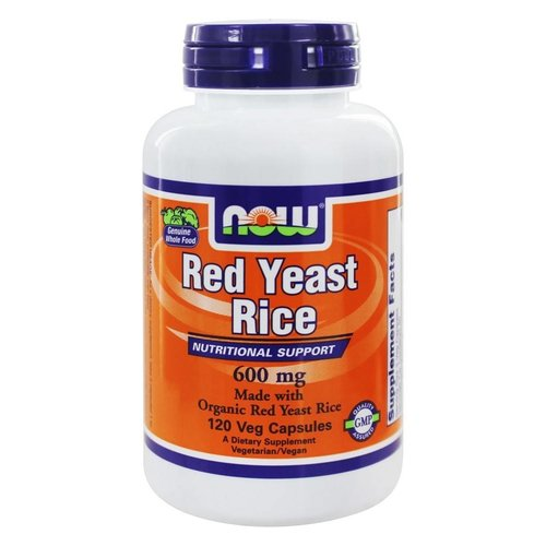 Now Foods Red Yeast Rice: Roter Reis (600 mg)