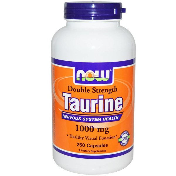 Now Foods Taurin, Double Strength (1.000 mg)