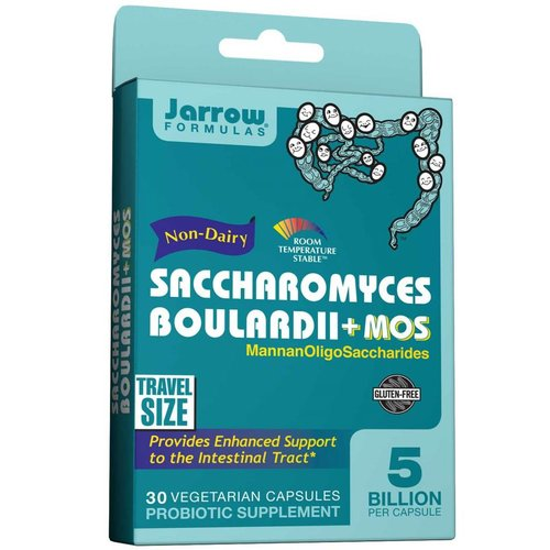 Jarrow Saccharomyces boulardii + MOS 30