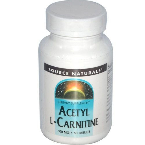 Source Naturals Acetyl L-Carnitine (500mg) 60 Tabletten