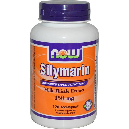 Now Silymarin, Milch-Distel-Extrakt, 150 mg, 120 Vcaps