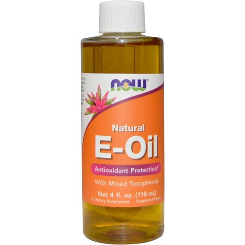 Now Now Foods, Natur E-Öl, 4 Flüssigunzen (118 ml)