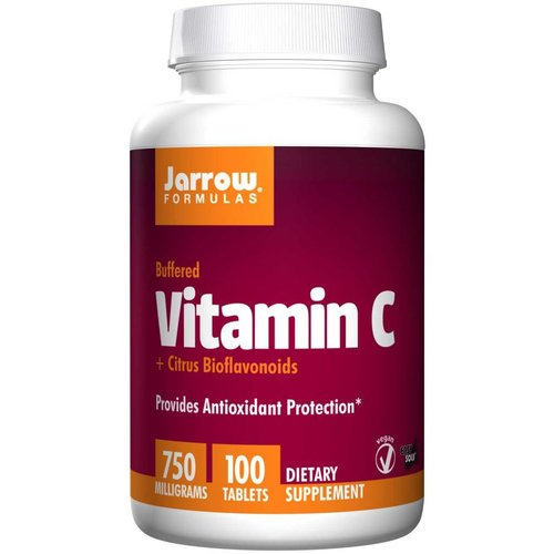 Jarrow Formulas Wieder da: Vitamin C (750 mg) Buffered Vitamin C + Citrus Bioflavanoids