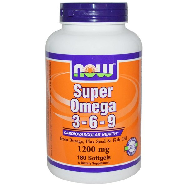 Now Foods Omega-3-6-9 (1.200 mg)