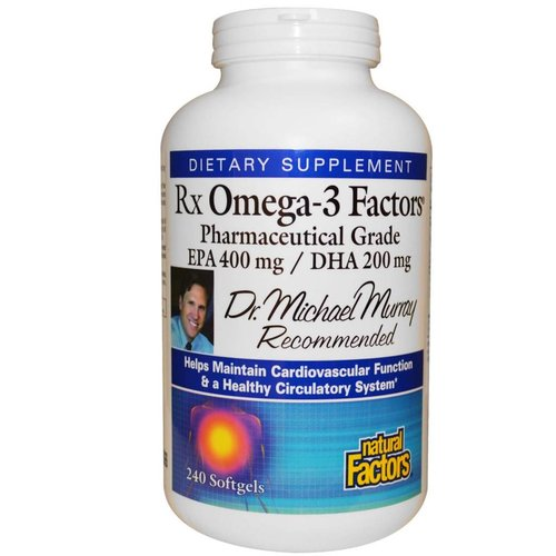 Natural Factors Rx Omega-3 Factors (240 Kapseln)