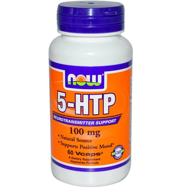 Now 5-HTP 60 (100 mg)