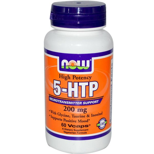 Now Foods 5-HTP 60 (200 mg)