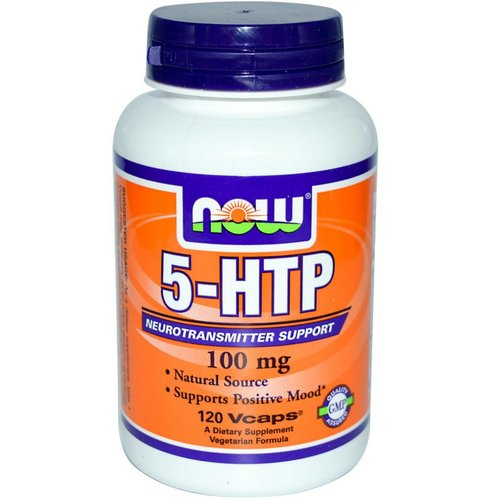 Now Foods 5-HTP 120 (100 mg)
